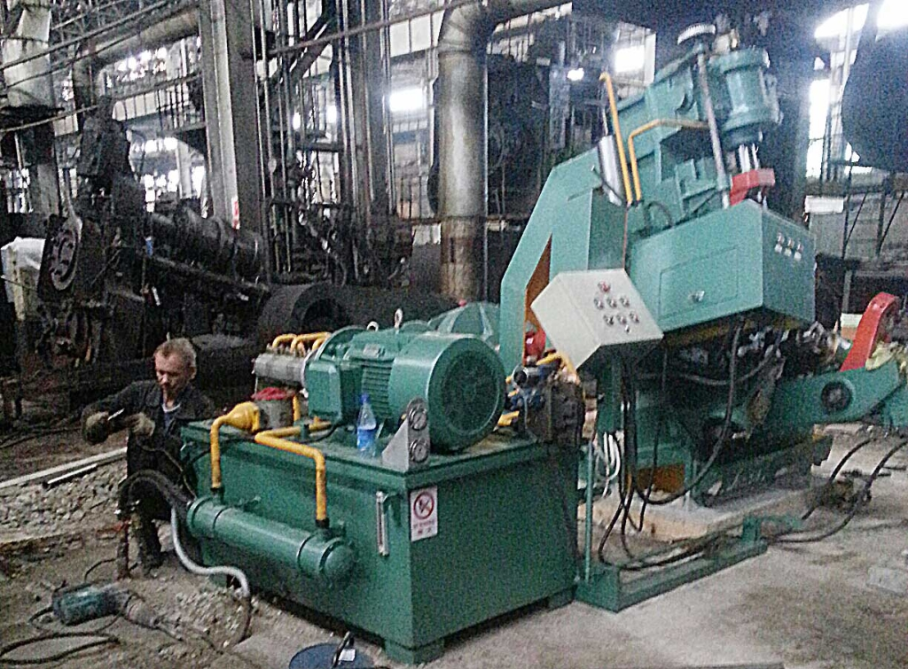 D51Y-250ES adial axial ring rolling machine in Russia