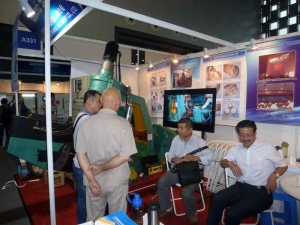 Wuxi Daqiao in 2014 China international bearing industry exhibition