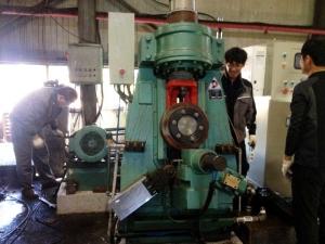 ring rolling machine in Korea