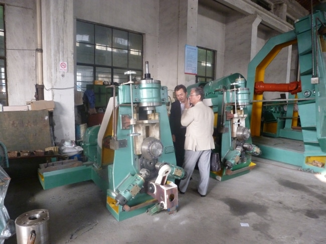 ring rolling machine japan
