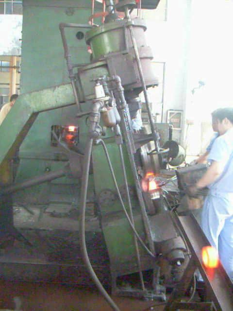D51Y-250E ring rolling machine exported to Ukrain