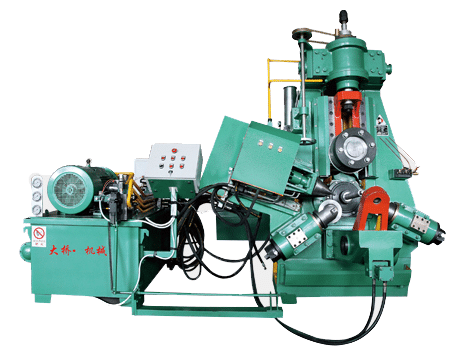 Hot ring rolling machine in bearing production