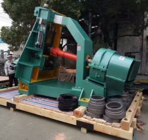 D51Y-500E ring rolling machine to Korea