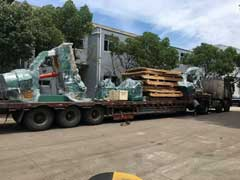 D51Y-800E ring rolling machine send to Russia