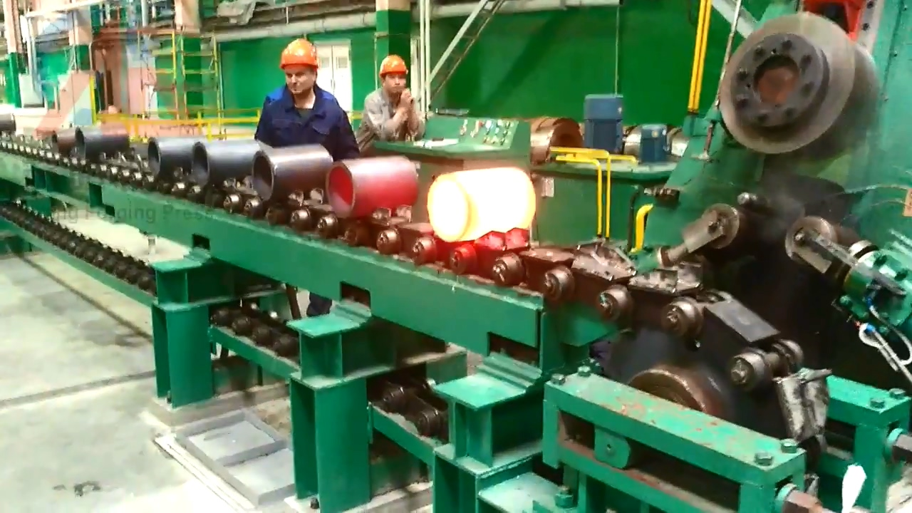 D51Y-800E ring rolling machine in russia